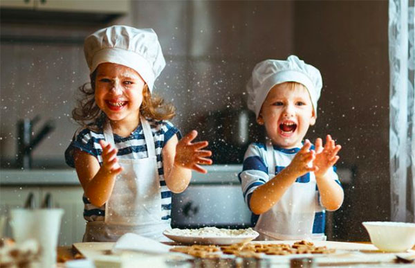 extracurricular learning, kids cooking
